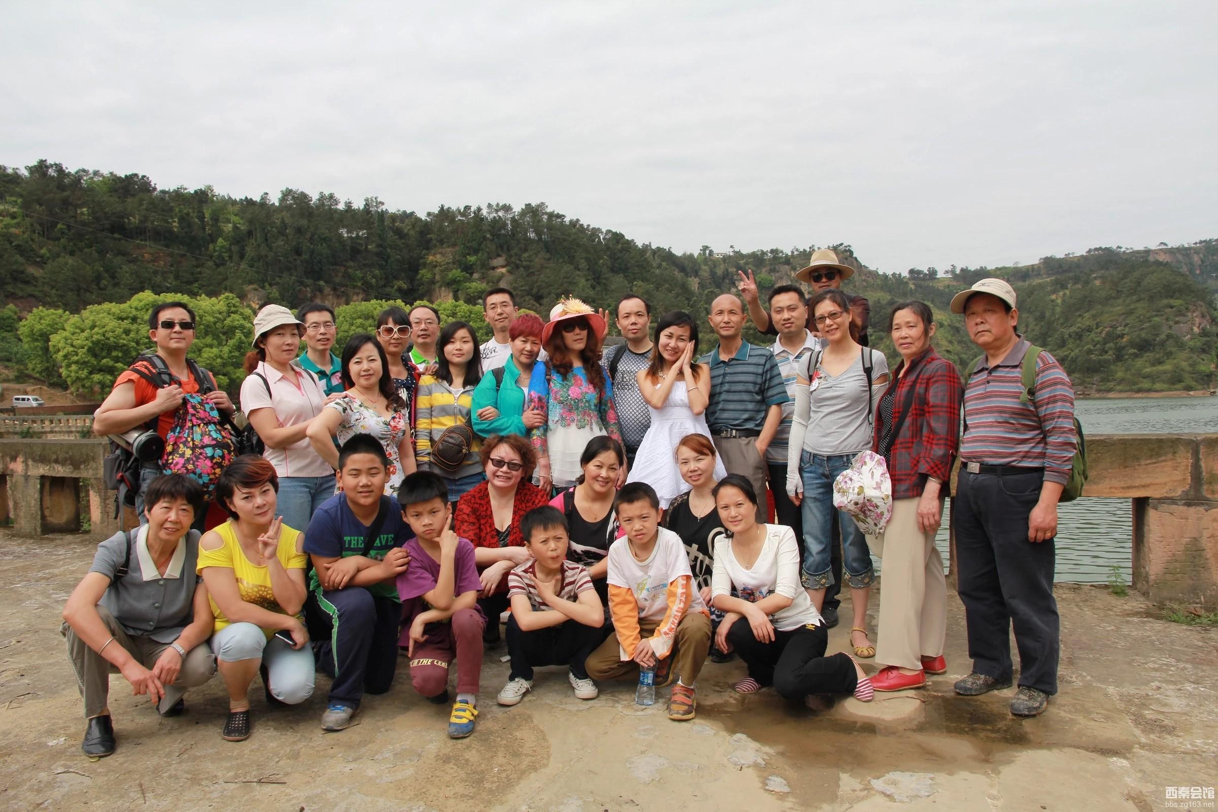 总第222暴〕 时间:2014年4月19日 路线:威远镇西河口水库——庆卫镇