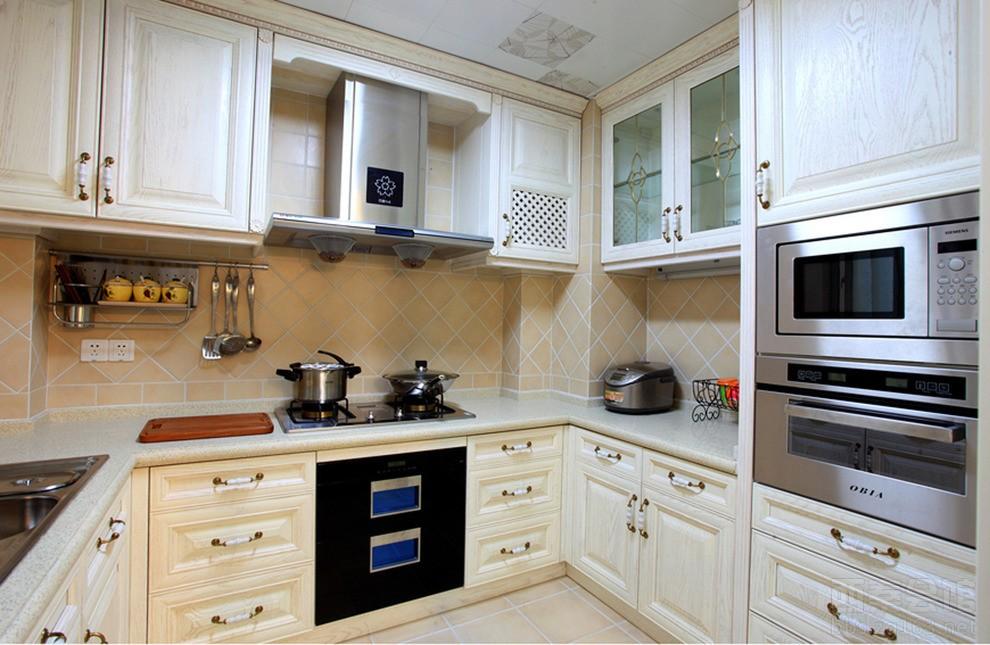 宜宾93平米小户型欧式庄园风格设计客厅loft装修效果图案例预算