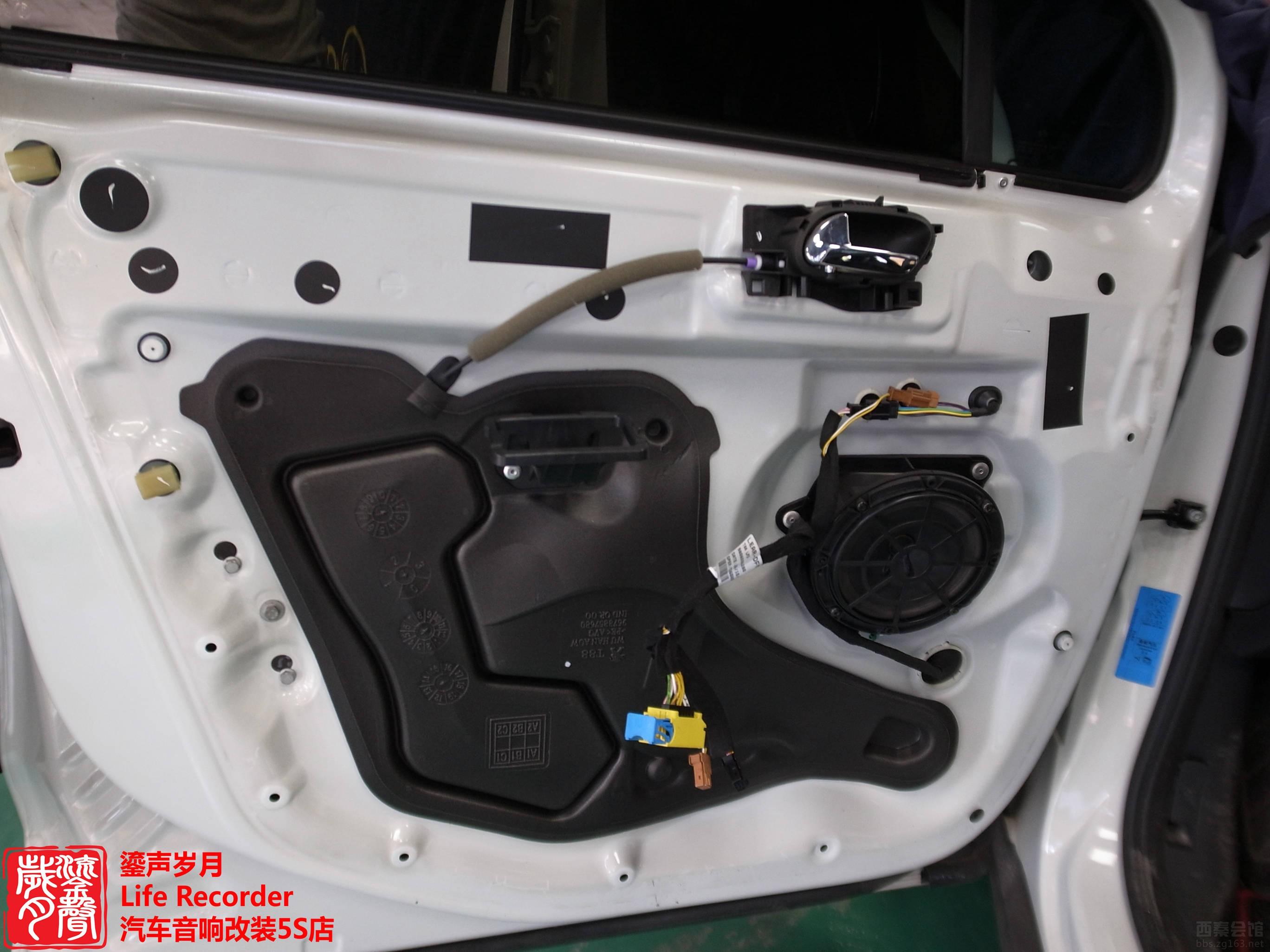 重庆好声音 之 标致汽车音响改装高清图片