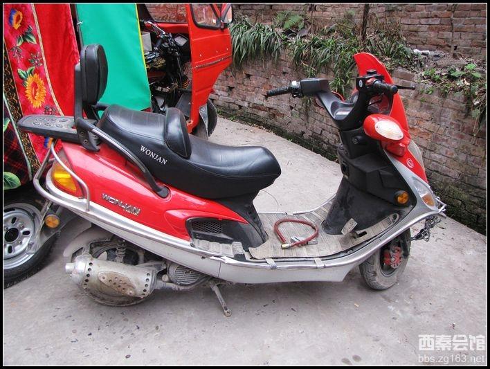转让望江铃木125踏板车已经卖出!