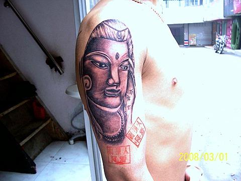 自贡刺墨人纹身机构(作品发表)