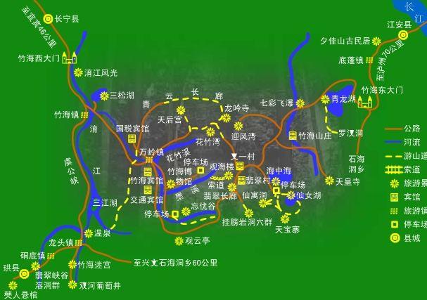 威海旅游地图